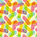 Картина ручек и треугольников Стоковые Фотографии RF