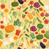 Картина свежих овощей Стоковые Изображения