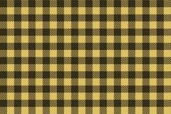 Картина светлой - коричневый - черной шотландки Lumberjack безшовная иллюстрация вектора