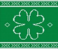 Картина свитера на день St Patrick's Стоковое Фото