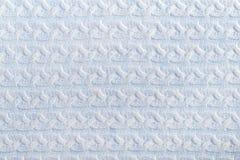 Картина связанная формой для голубой предпосылки handmade стоковое изображение