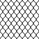 Картина связи загородки Решетка металла техники безопасности на прои иллюстрация вектора