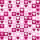 картина сердец Стоковые Изображения