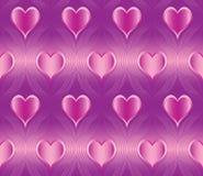 картина сердца безшовная Стоковые Изображения RF