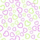 картина сердца безшовная Стоковое Фото