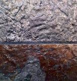 Картина серебряных/бронзы Стоковое Фото