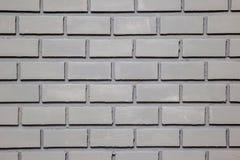 Картина серой кирпичной стены для предпосылки и текстурированного, безшовного серого кирпича Стоковая Фотография RF