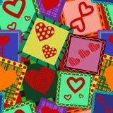 картина сердец Стоковые Фото