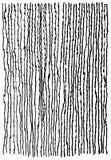 Картина сетки проволочной изгороди, freehand нарисованное изображение, цифров обновлянная черно-белая текстура иллюстрация вектора