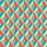 Картина 2 симметрии треугольника винтажная Стоковые Фото