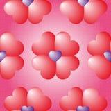 Картина симпатичного вектора безшовная Стоковое Изображение