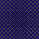 Картина сини и золота безшовная иллюстрация вектора