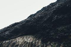 Картина скалы базальта Стоковое Изображение