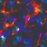 Картина случайных квадратов безшовная абстрактная предпосылка Квадраты перекрытые на одине другого геометрическо Напечатайте ткан иллюстрация вектора