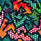 Картина смешной ткани безшовная Стоковые Фото