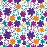 Картина смелейших цветков безшовная также вектор иллюстрации притяжки corel Стоковая Фотография RF