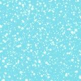Картина снега безшовная Предпосылка снежинок вектора Обои зимы Смогите использовать для украшения праздников, рождества, дизайна  иллюстрация вектора