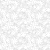 Картина снежинки безшовная Стоковая Фотография