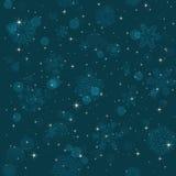 Картина снежинки Текстура вектора снежинки Новый Год принципиальной схемы рождества Стоковое Изображение