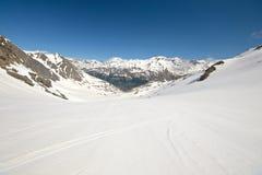 Картина снежка большой возвышенности плавя Стоковое Изображение
