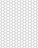 картина сота безшовная Стоковое Изображение RF