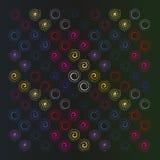 Картина спиралей Стоковое Изображение