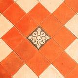 Картина старых плиток глины Стоковое Изображение