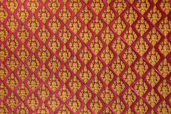 Картина стены тайская Стоковое Изображение RF