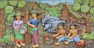 Картина стены Стоковые Фото