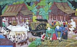 Картина стены Стоковое Изображение