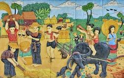 Картина стены Стоковые Фотографии RF