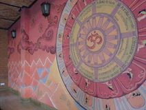 картина стены Стоковое фото RF