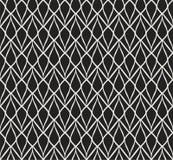 Картина стиля стиля Арт Деко вектора безшовная абстрактный орнамент предпосылки Иллюстрация вектора