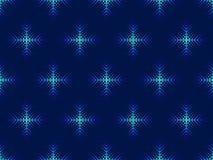 Картина стиля искусства шипучки снежинок безшовная dotted звезды абстрактной картины конструкции украшения рождества предпосылки  иллюстрация вектора