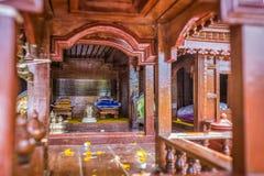 Картина стиля тайских домов старая _ Стоковое Фото