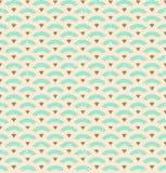 картина стиля Арт Деко безшовная Стоковое фото RF