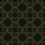 Картина стиля Арт Деко линейная Стоковые Изображения RF