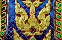 Картина стиля картины Таиланда handmade Стоковое Изображение