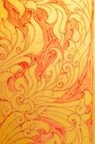 Картина стиля цветка тайская стоковые изображения rf