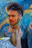 Картина стороны и тела человека Стоковое фото RF