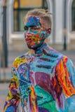 Картина стороны и тела человека Стоковые Изображения RF