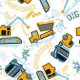 Картина строительных машин Стоковые Фотографии RF