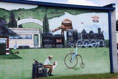 Картина сцены Джексон вокзала, Теннесси Стоковая Фотография