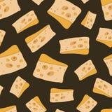 Картина сыра вектора Стоковое Изображение