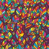 Картина славного пересекающаяся линия лист безшовная Стоковые Фотографии RF