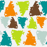 Картина с выплеском цвета Иллюстрация вектора