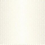 Картина с градиентом золота волн и белой предпосылкой Стоковое Фото