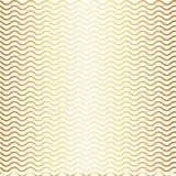 Картина с градиентом золота волн и белой предпосылкой Стоковые Изображения RF