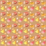 Картина с едой Стоковые Фотографии RF