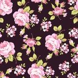 Картина с желтыми и розовыми розами Стоковая Фотография